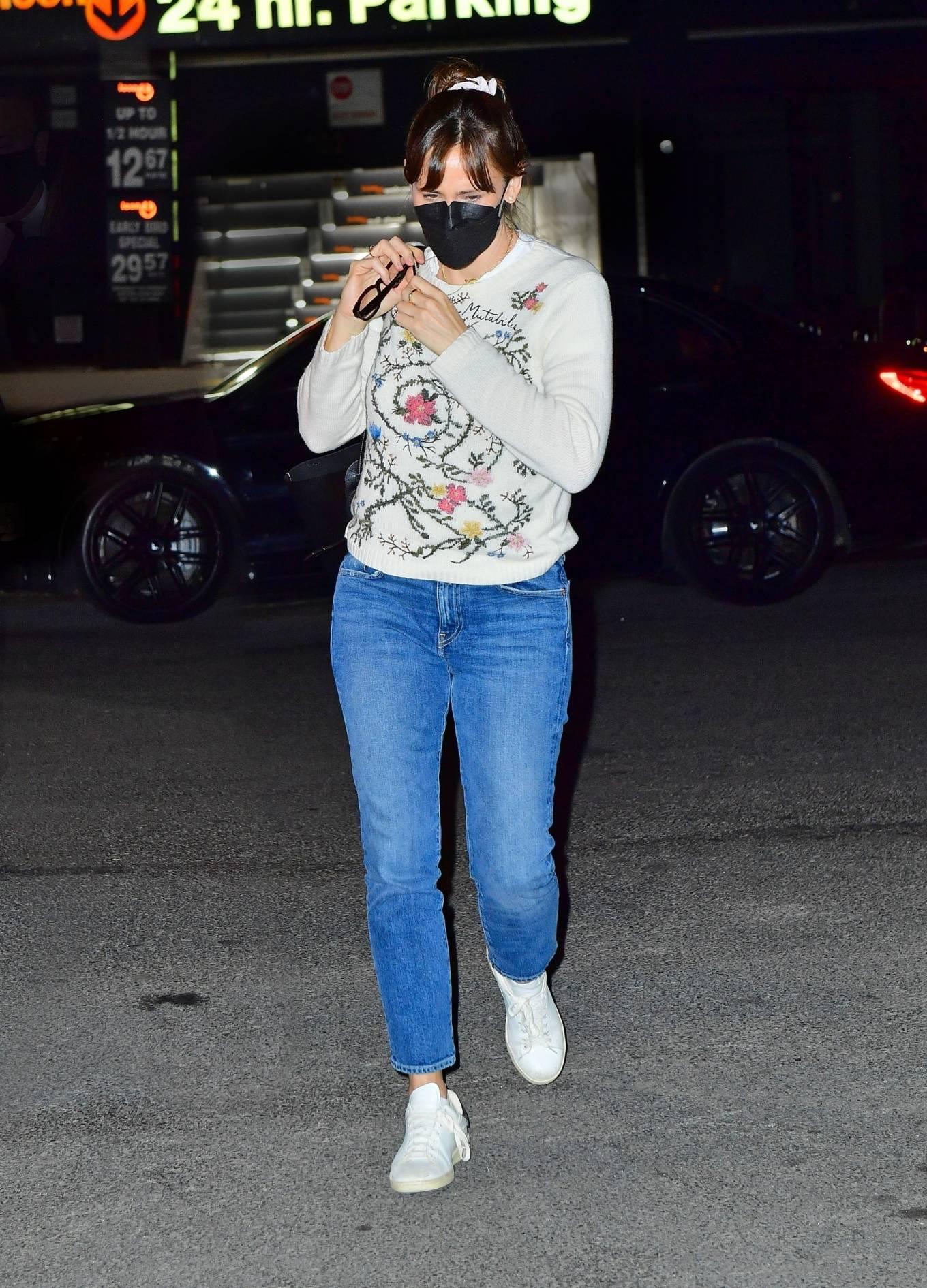 Jennifer Garner - Out for a dinner in New York