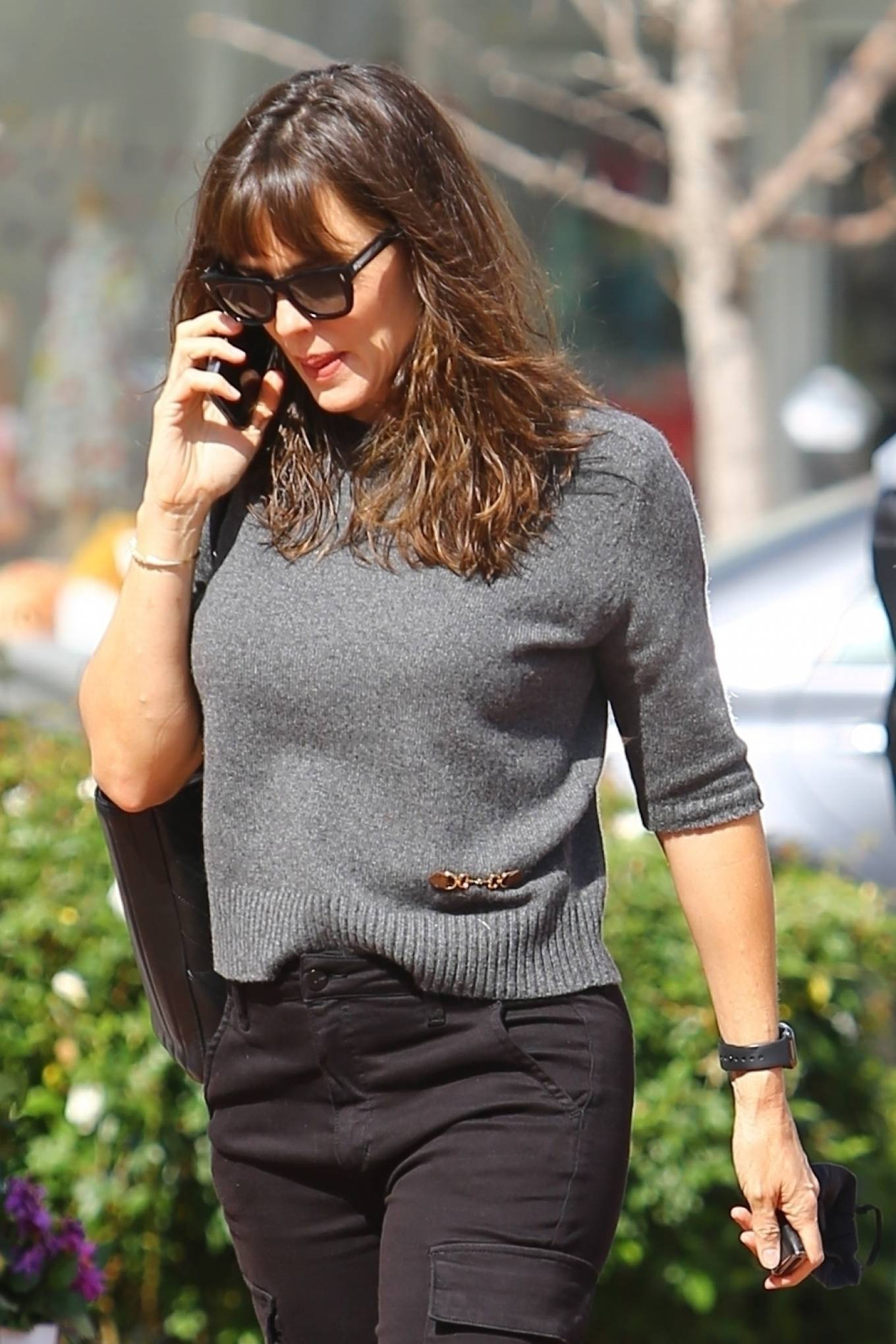 Jennifer Garner - out for coffee in Los Angeles