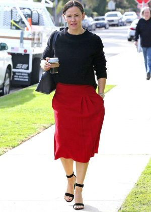 Jennifer Garner -Seen going to church in Los Angeles