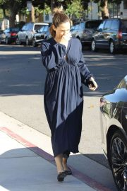 Jennifer Garner - Sunday Church Service in Pacific Palisades