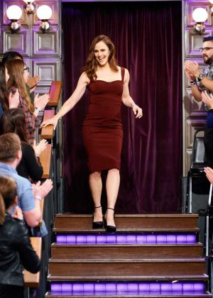Jennifer Garner - 'The Late Late Show with James Corden' in LA