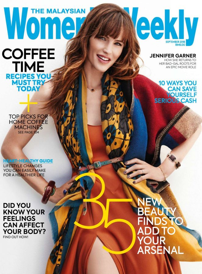 Jennifer Garner - The Malaysian Womens Weekly (September 2018)