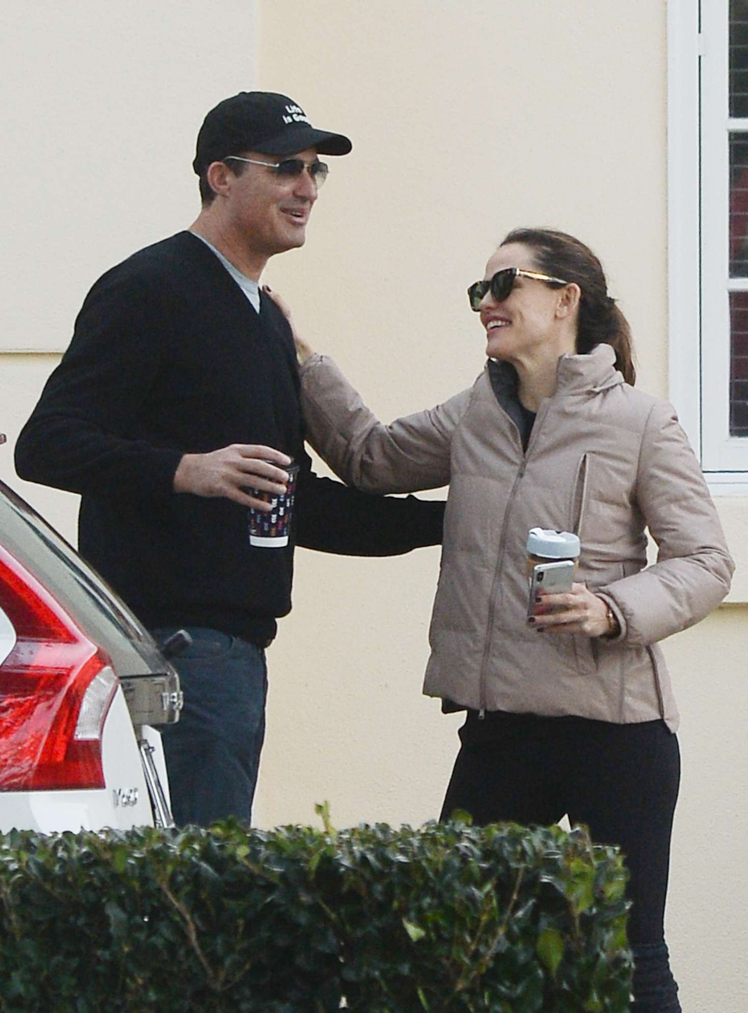 Jennifer Garner with friend out in Los Angeles