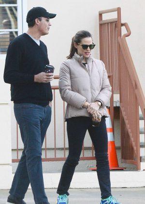 Jennifer Garner with friend out in Los Angeles