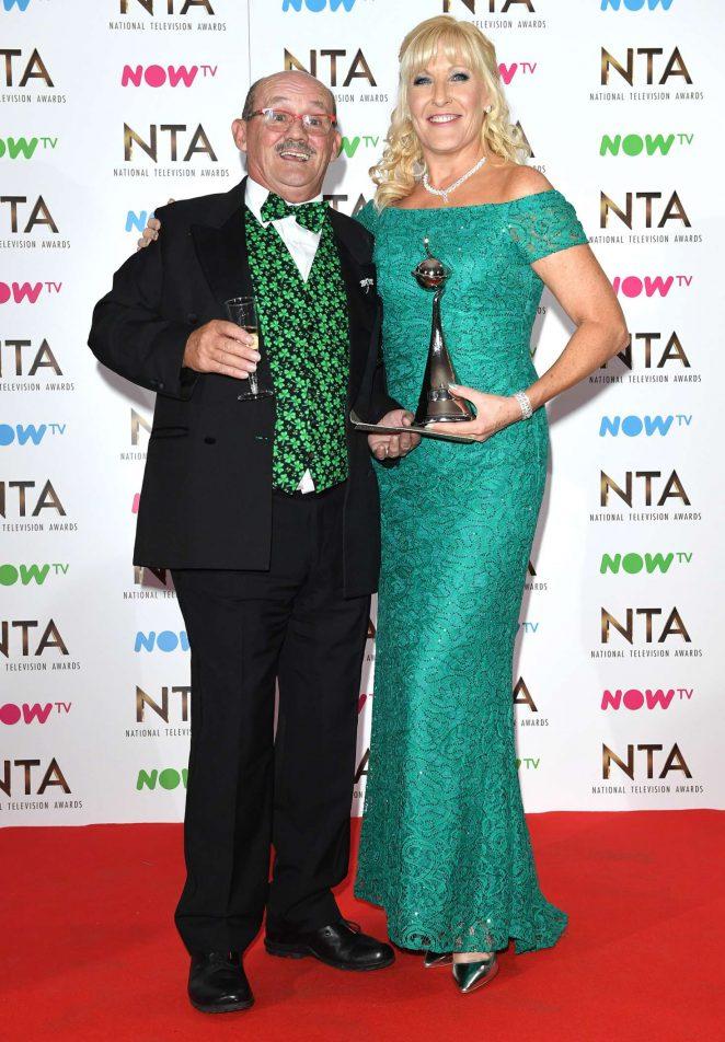Jennifer Gibney - 2017 National Television Awards in London