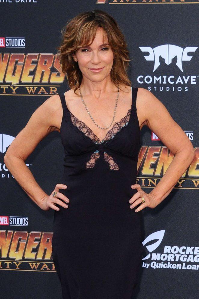 Jennifer Grey - 'Avengers: Infinity War' Premiere in Los Angeles