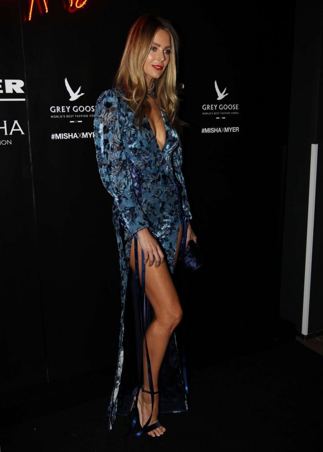 Jennifer Hawkins – Misha x Myer Party in Sydney