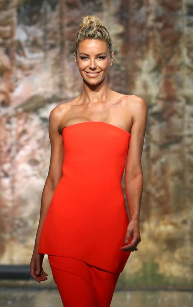 Jennifer Hawkins - Myer AW16 Fashion Launch in Sydney