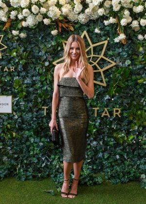 Jennifer Hawkins - The Star Doncaster Mile Inaugural Luncheon in Sydney