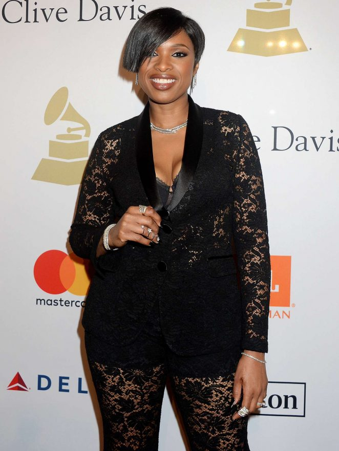 Jennifer Hudson - Clive Davis Pre-Grammy Party 2017 in Los Angeles