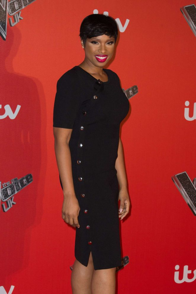 Jennifer Hudson - The Voice Press Launch in London