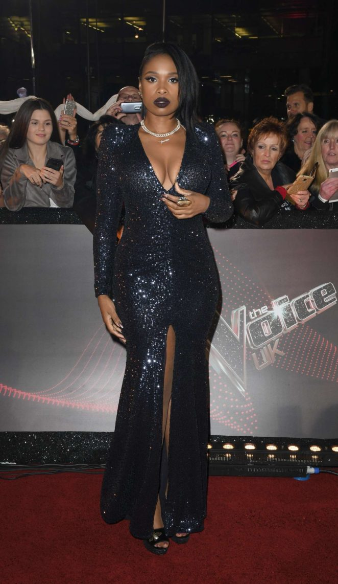 Jennifer Hudson – 'The Voice' TV show photocall in Manchester