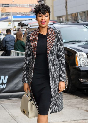 Jennifer Hudson - Visits The Daily Show with Trevor Noah in New York