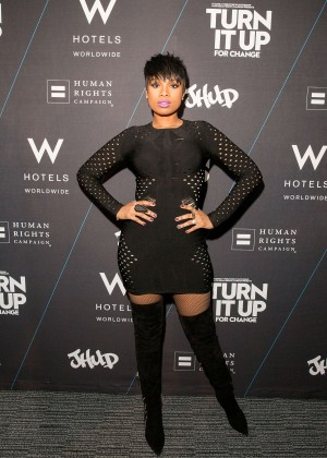 Jennifer Hudson - W Hotels Turn It Up For Change to Benefit HRC in Chicago