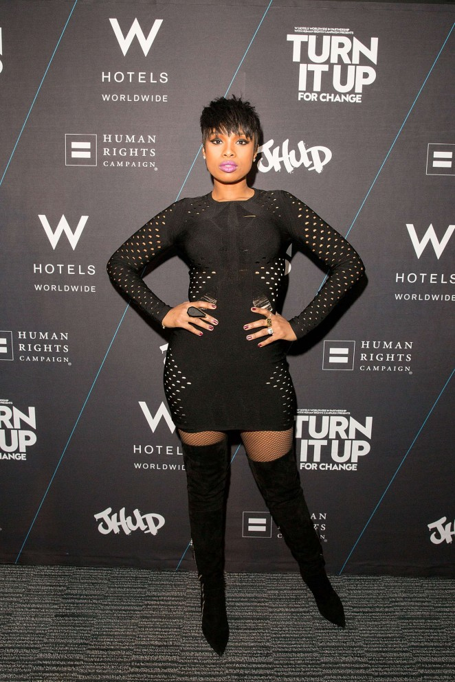 Jennifer Hudson – W Hotels Turn It Up For Change to Benefit HRC in Chicago