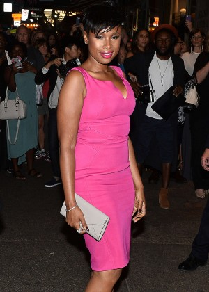 Jennifer Hudson - Zac Posen Fashion Show Spring 2016 NYFW in NYC