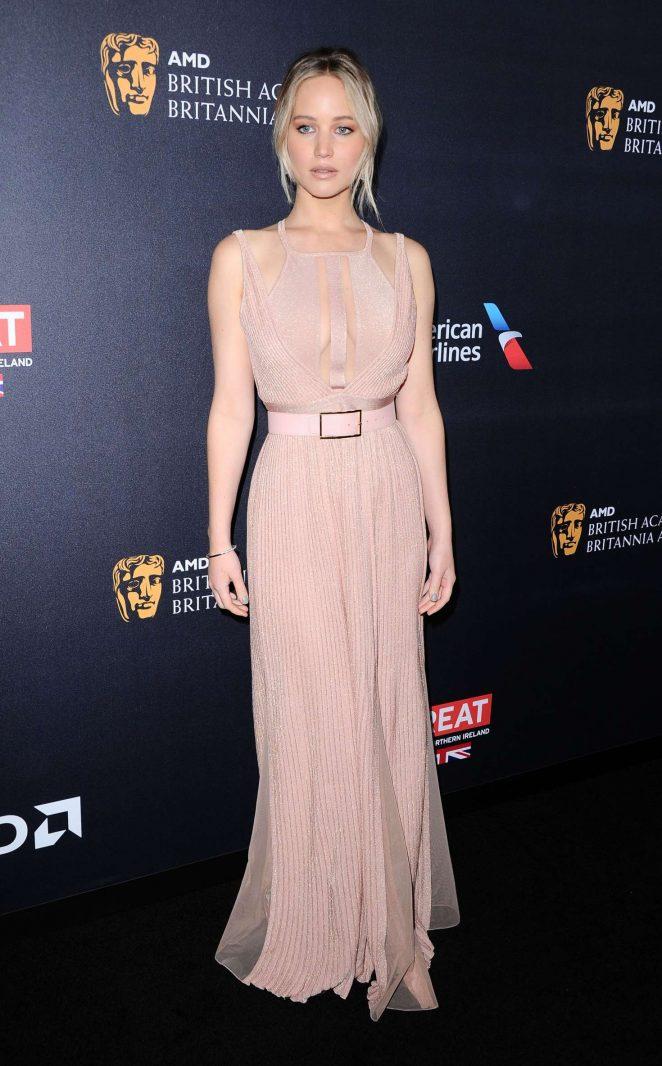 Jennifer Lawrence - 2016 AMD British Academy Britannia Awards in Beverly Hills