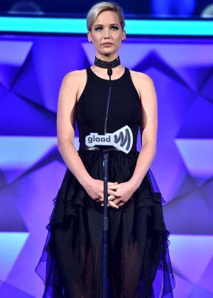 Jennifer Lawrence - 2016 GLAAD Media Awards in NYC