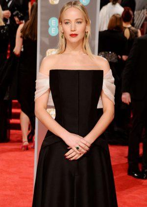 Jennifer Lawrence - 2018 BAFTA Awards in London