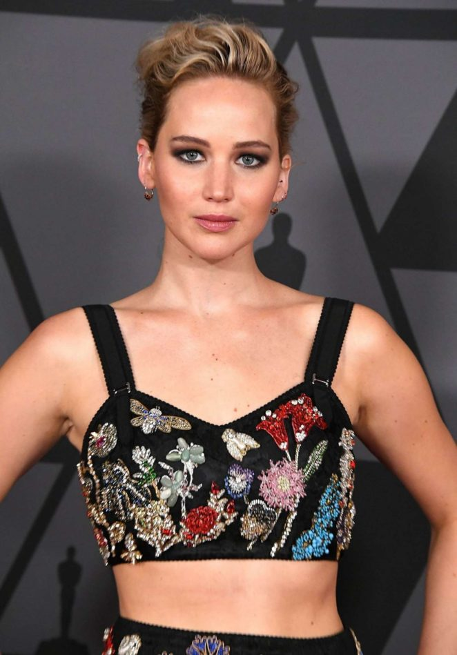 Jennifer Lawrence – 9th Annual Governors Awards in Hollywood
