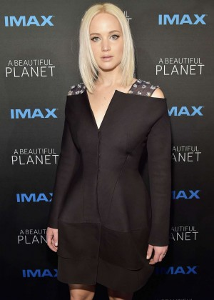Jennifer Lawrence - 'A Beautiful Planet' Premiere in New York