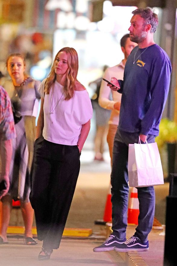 Jennifer Lawrence and Cooke Maroney are spotted on a date night in NY