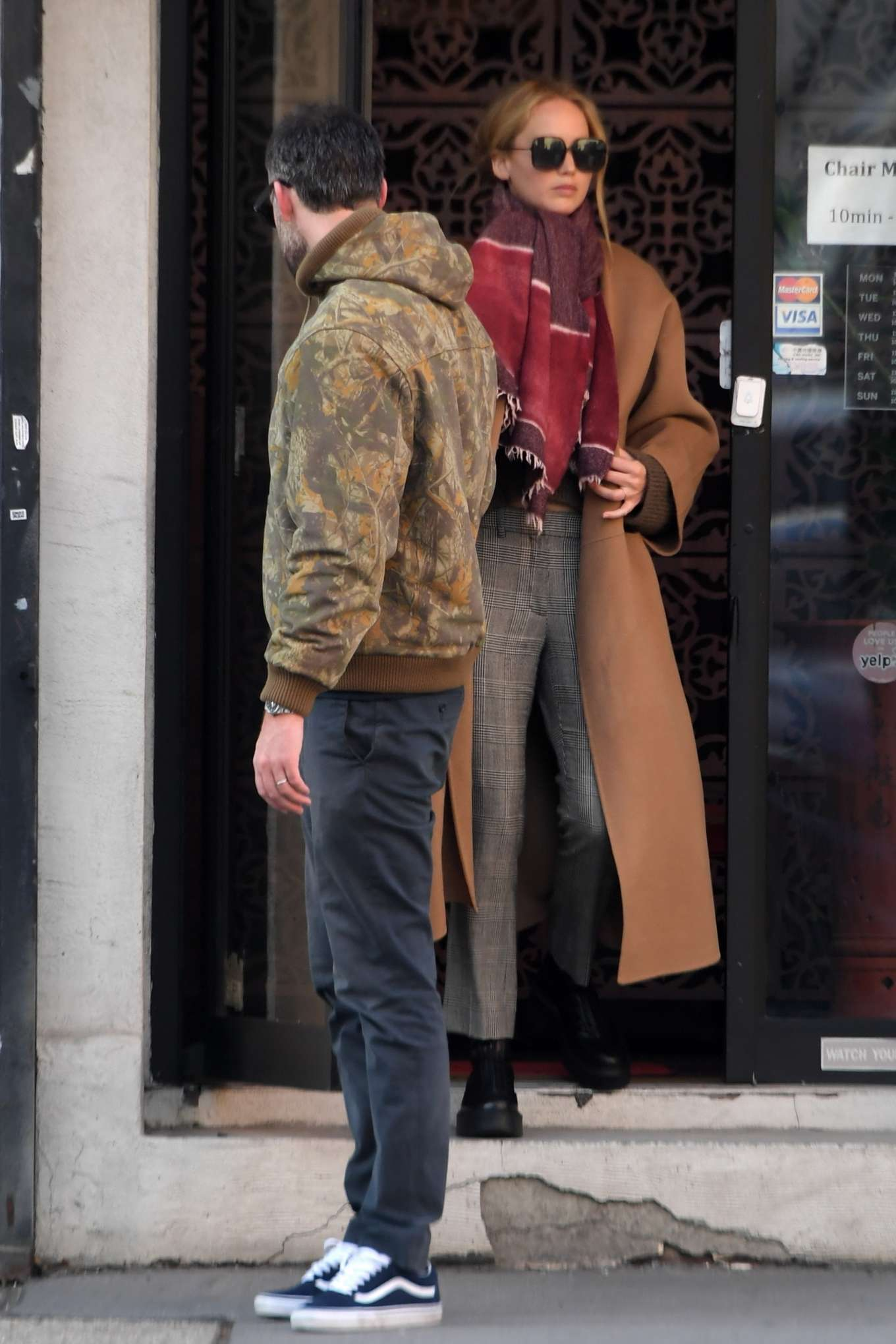 Jennifer Lawrence 2019 : Jennifer Lawrence and Cooke Maroney – Out and about in New York City-04