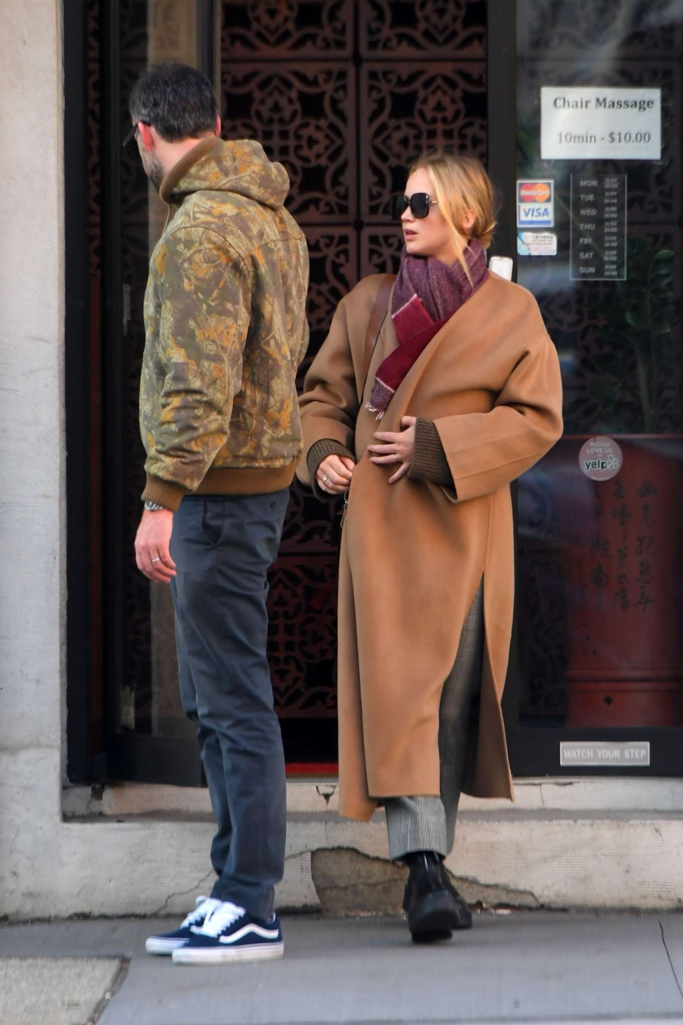 Jennifer Lawrence 2019 : Jennifer Lawrence and Cooke Maroney – Out and about in New York City-05