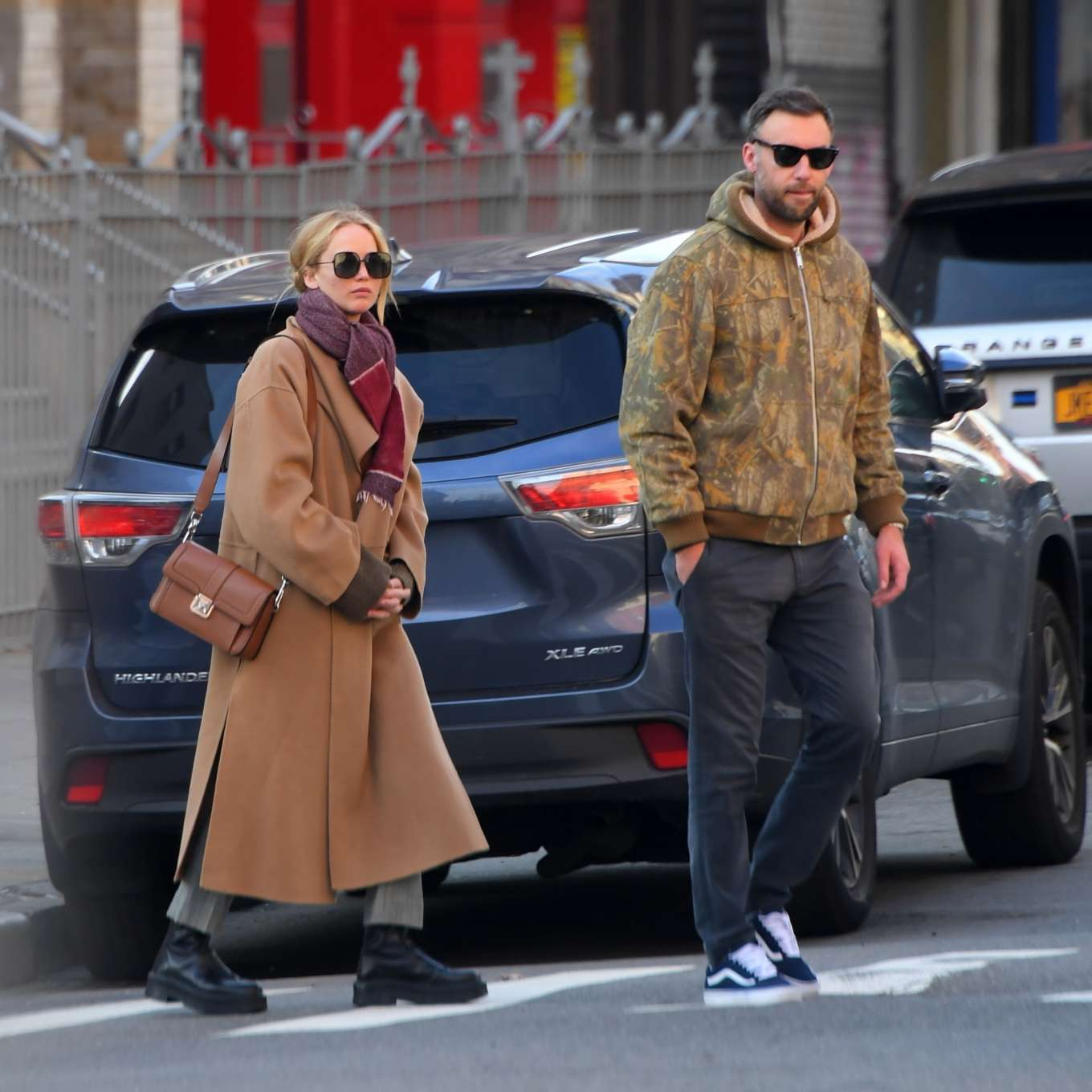 Jennifer Lawrence 2019 : Jennifer Lawrence and Cooke Maroney – Out and about in New York City-06