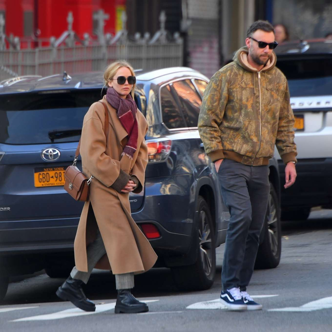 Jennifer Lawrence 2019 : Jennifer Lawrence and Cooke Maroney – Out and about in New York City-09