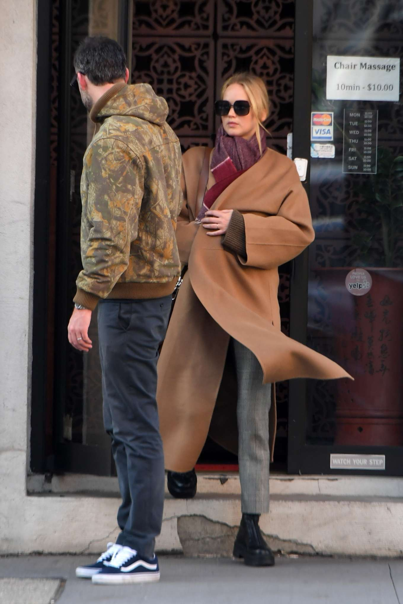 Jennifer Lawrence 2019 : Jennifer Lawrence and Cooke Maroney – Out and about in New York City-10