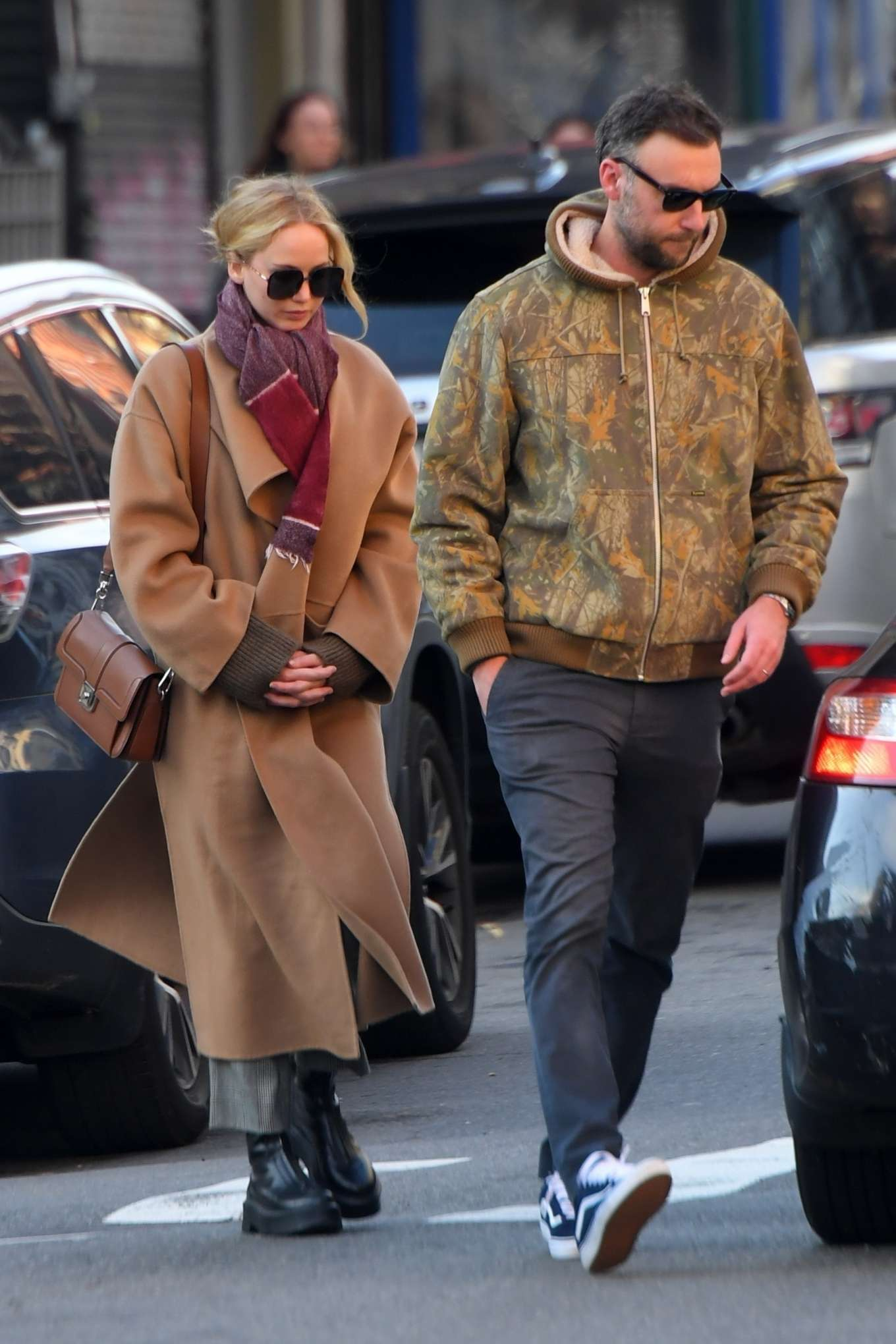 Jennifer Lawrence and Cooke Maroney - Out and about in New York City