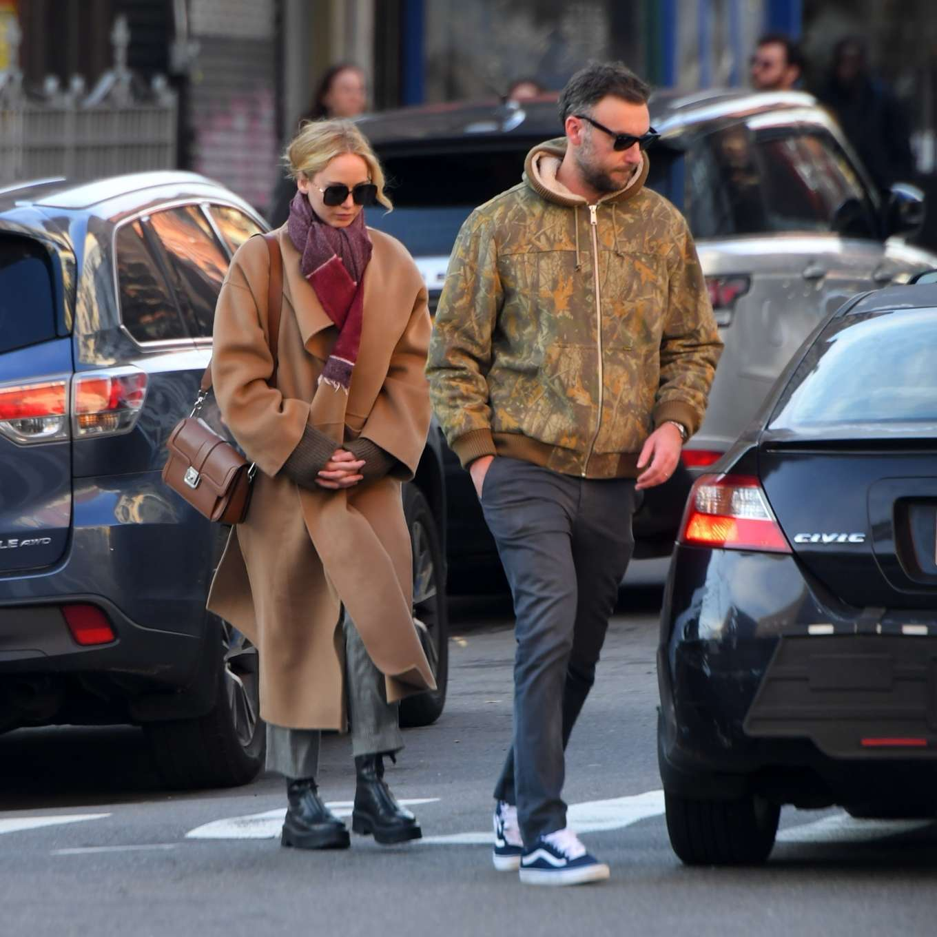 Jennifer Lawrence 2019 : Jennifer Lawrence and Cooke Maroney – Out and about in New York City-15