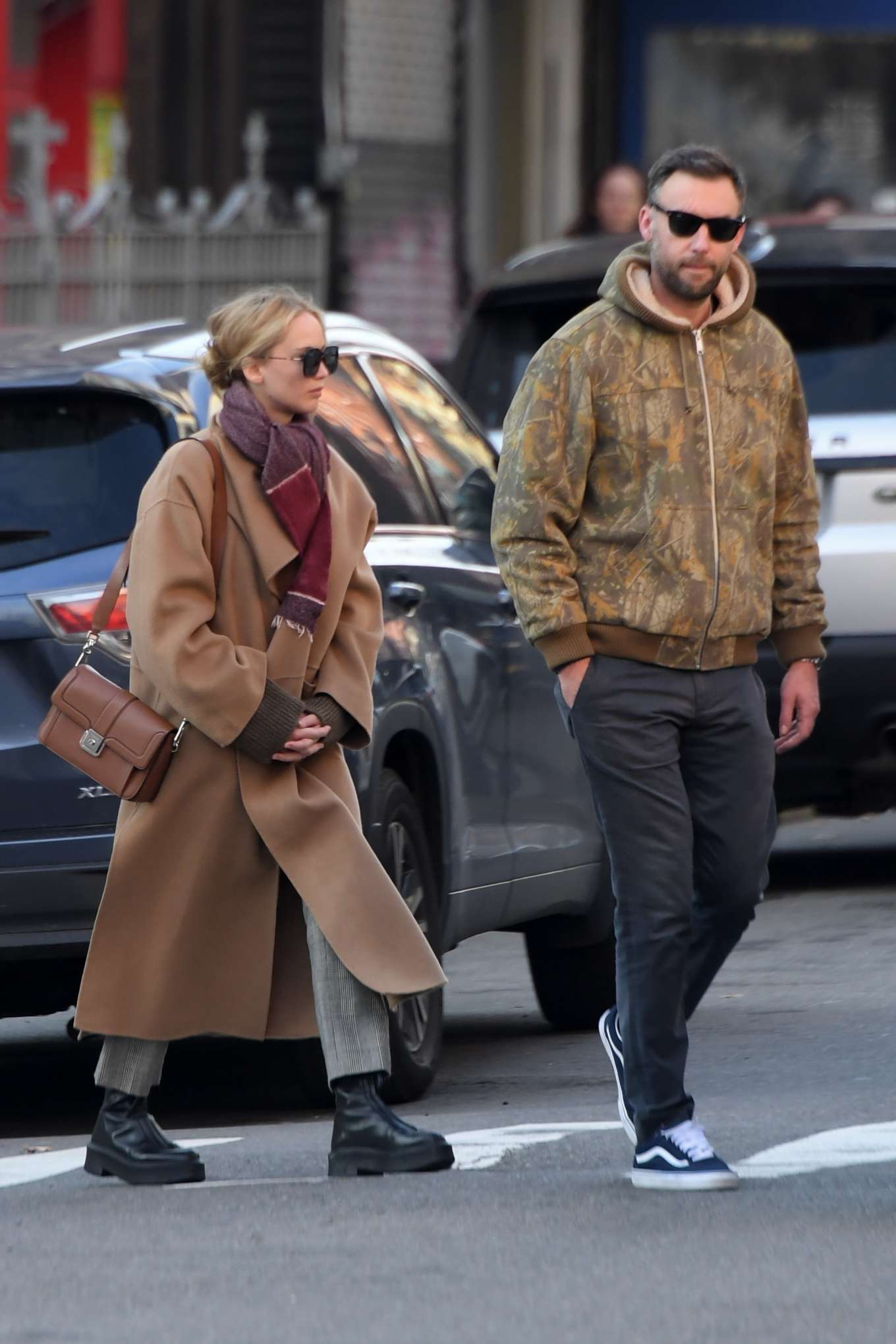 Jennifer Lawrence 2019 : Jennifer Lawrence and Cooke Maroney – Out and about in New York City-16