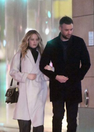 Jennifer Lawrence and Cooke Maroney - Out in New York