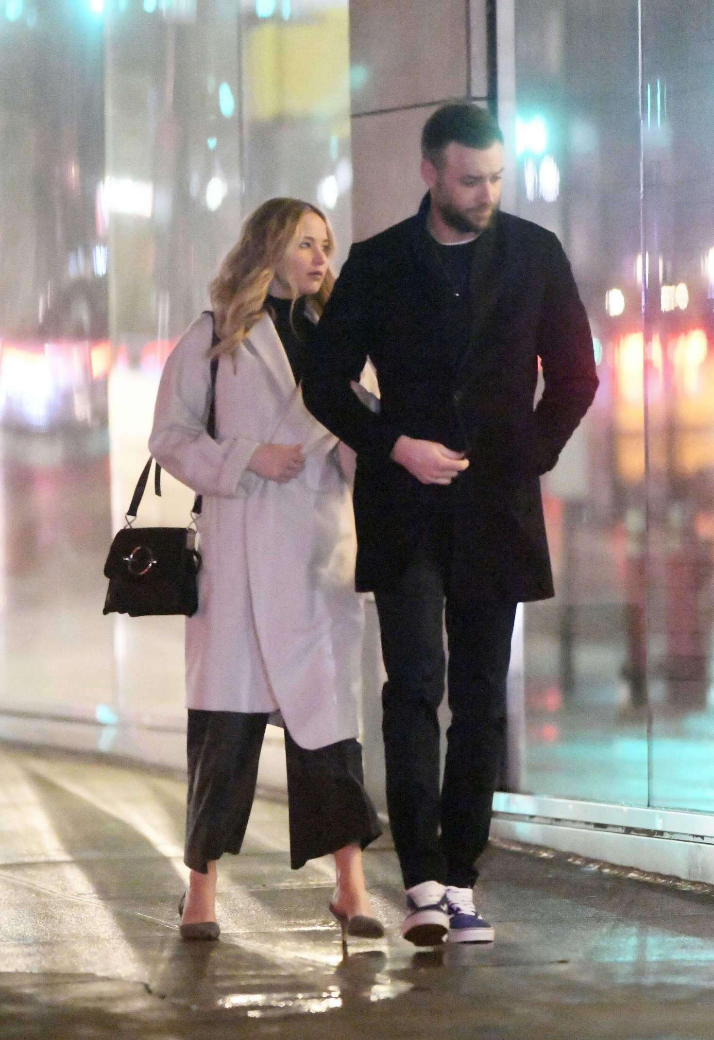 Jennifer Lawrence And Cooke Maroney Out In New York Gotceleb