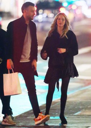 Jennifer Lawrence and her boyfriend Cooke Maroney - Out in New York