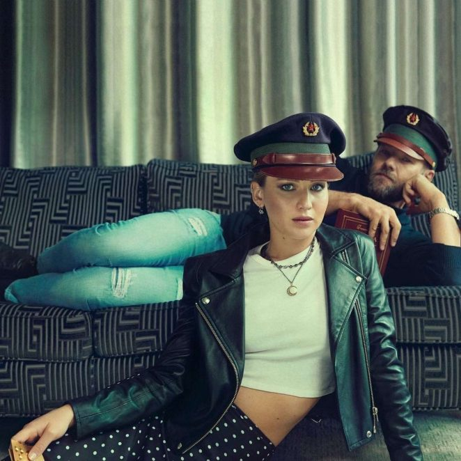 Jennifer Lawrence and Joel Edgerton – Photoshoot for People (February 2018)