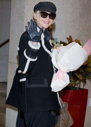 Jennifer Lawrence - Arrives in Seoul