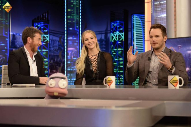 Jennifer Lawrence at 'EL Homiguero' TV Show in Madrid