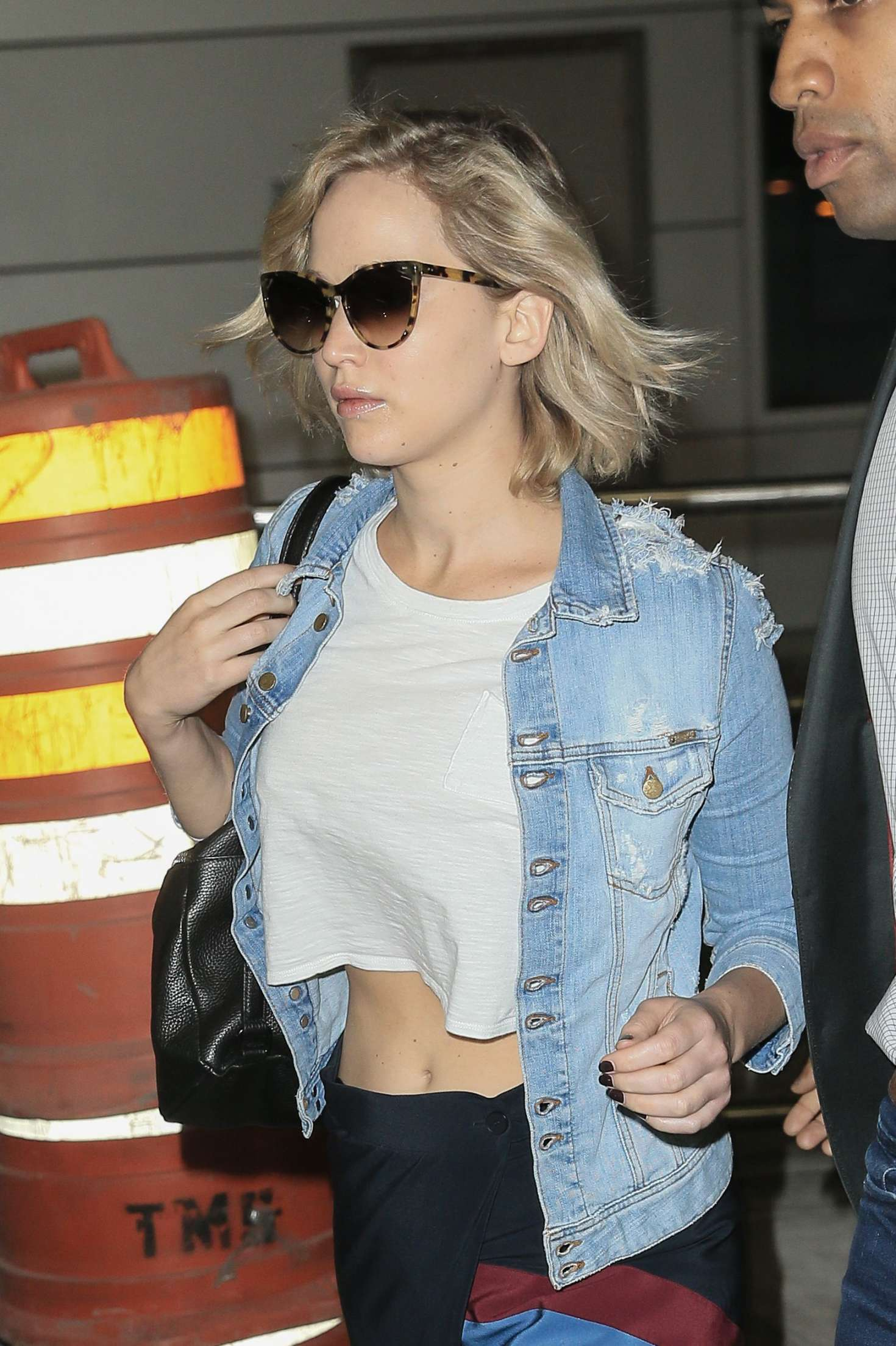 Jennifer Lawrence at JFK Airport in NYC