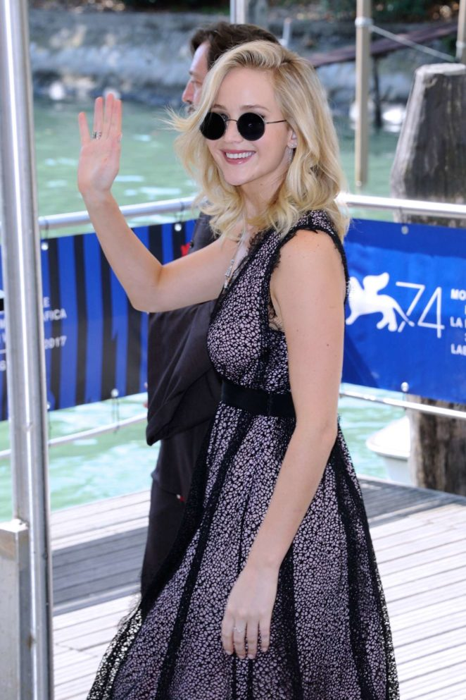 Jennifer Lawrence - at the Casino during 2017 Venice Film Festival