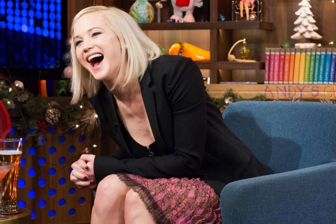 Jennifer Lawrence at Watch What Happens Live