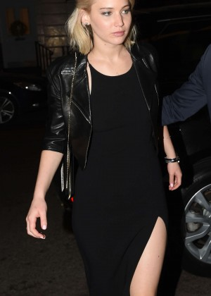 Jennifer Lawrence - Chiltern Firehouse in London