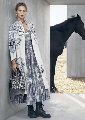 Jennifer Lawrence - Christian Dior Cruise 2019 by Viviane Sassen