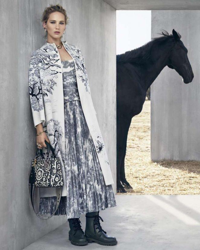 Jennifer Lawrence – Christian Dior Cruise 2019 by Viviane Sassen