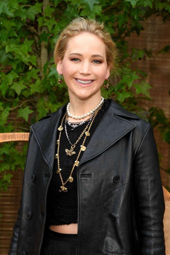 Jennifer Lawrence - Christian Dior Womenswear SS 2020 at Paris Fashion Week
