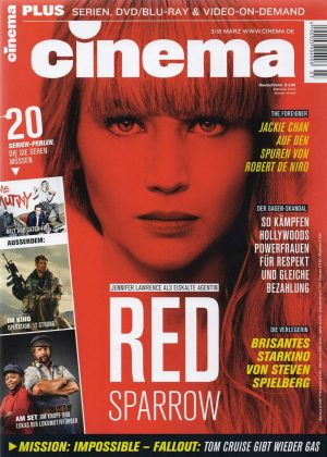 Jennifer Lawrence - Cinema Germany Magazine (March 2018)