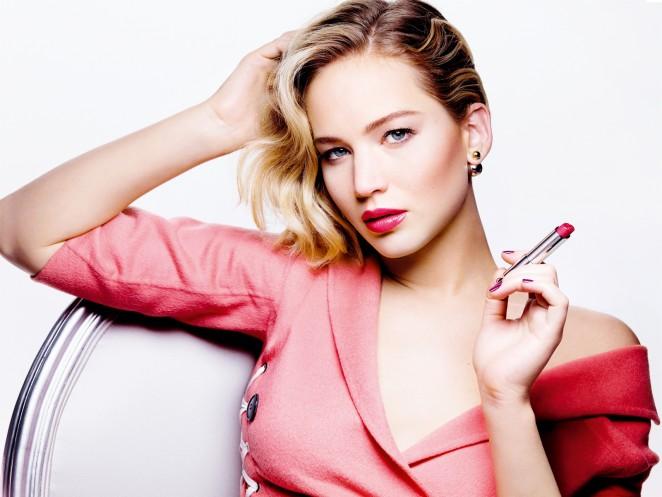 Jennifer Lawrence - Dior Addict Campaign 2015