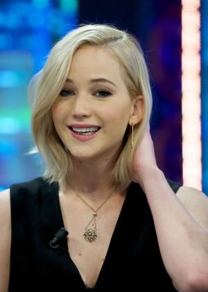 Jennifer Lawrence – 'El Hormiguero' TV Show in Madrid  Jennifer Lawrence